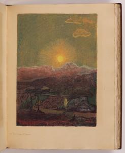 Západ slunce nad Javorem